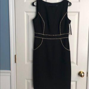 David Meister Dresses - Beautiful black and beige dress